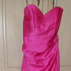 Alfred Angelo fuchsia dress